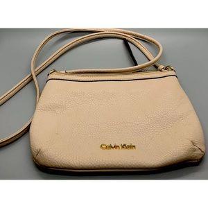 Calvin Klein Women's Leather CrossBody Bag Purse